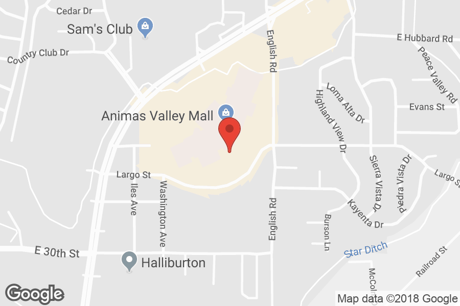 Map of Animas Valley Mall - Click to view in Google Maps